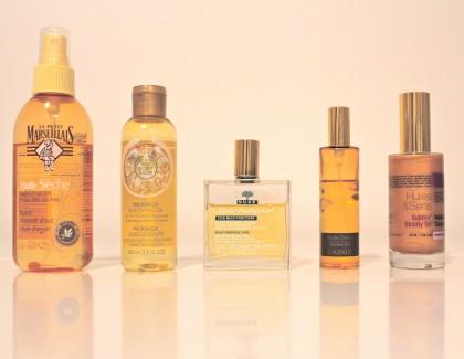 5 huiles sèches divines