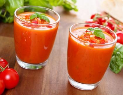 Des soupes fraîcheur sur la table du ftour