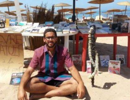 Lecture et farniente à la plage avec Ahmed Farissi