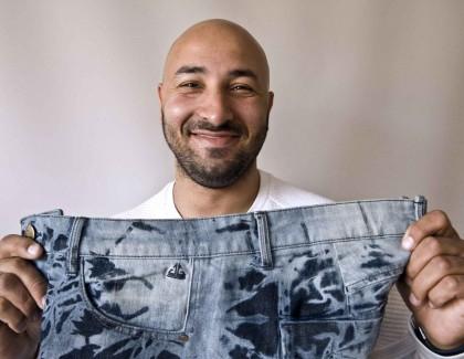 Le Jean sans couture de Fayçal Marzouq