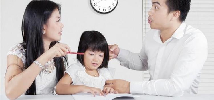 «Désaccords autour de l'éducation des enfants»