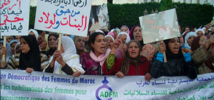Le combats des femmes Soulaliyates continue