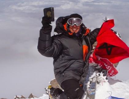 Bouchra Baïbanou, une passion nommée montagne