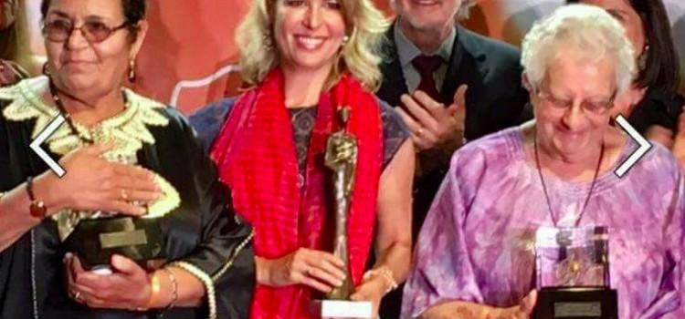 Le Prix Monte-Carlo Femme de l'Année pour Aicha Ech-Chenna