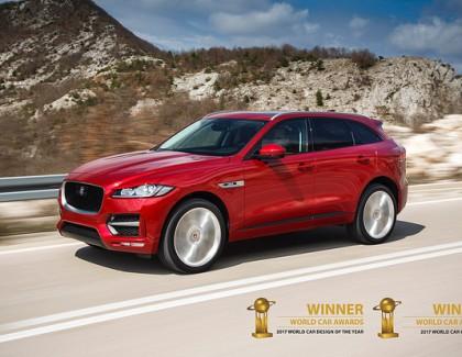 La plus belle voiture est … une Jaguar