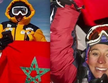 Deux Marocaines au sommet de l'Everest
