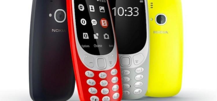 Avis aux nostalgiques : le Nokia 3310 est de retour !