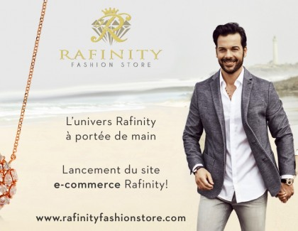 Rafinity lance son site e-commerce