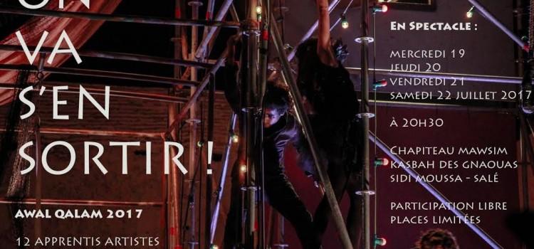 «On va s'en sortir» l'École Nationale de Cirque Shems'y