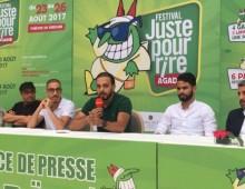 «Juste pour rire» à Agadir