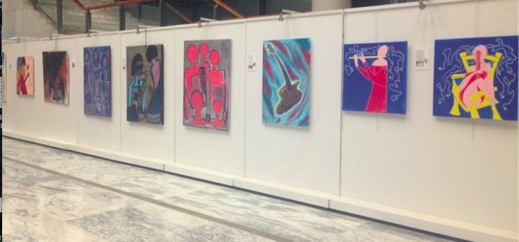 Exposition collective: peintres et musiciens célèbrent la fête de la musique