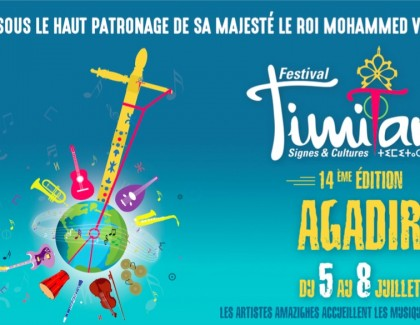 Le Festival Timitar enflammera Agadir pendant 4 jours