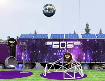 Caravane SPACEBUS, l'espace dans tous ses états !