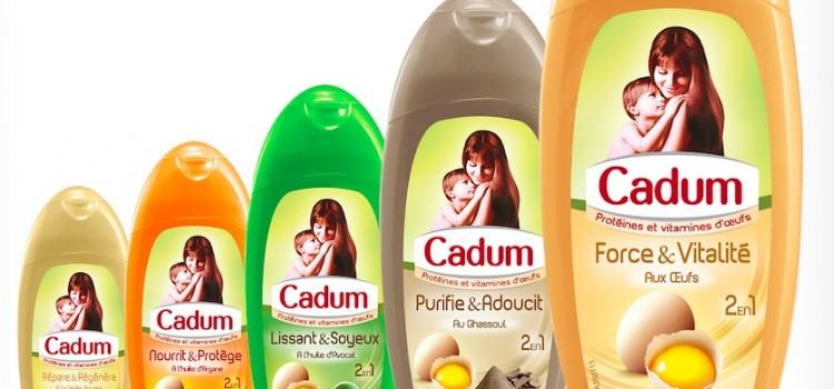 Cadum, un shampooing pour toute le famille