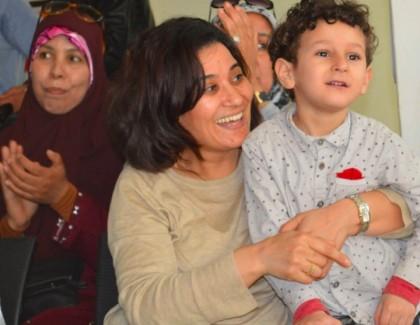 Atika Zoubir, interprète en langue des signes