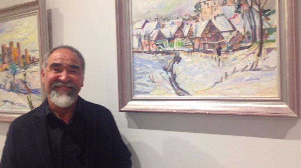 Mohammed Zouaoui, peintre du Neckar!