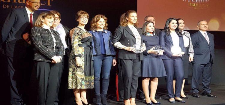 3 gagnantes pour le Trophée «Femme manager de l'année»