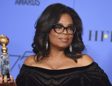 Discours poignant d'Oprah Winfrey aux Goden Globes