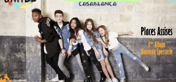Les Kids United en concert à Casablanca