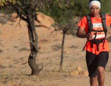 Aziza Raji victorieuse de l'Eco-Trail Lac Lalla Takerkoust