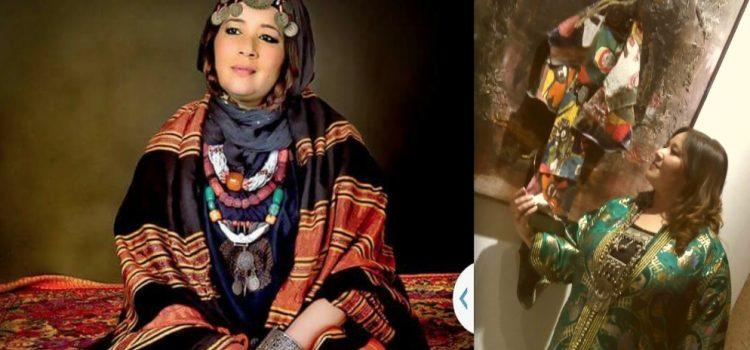 Aziza Jamal habille les murs de Bab Rouah! (photos)