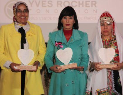 La Fondation Yves Rocher récompense trois Marocaines