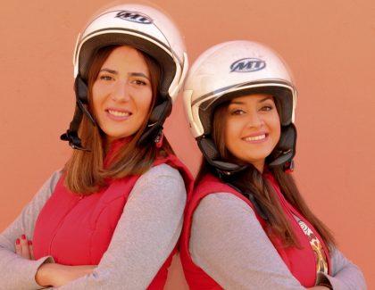 Sara Benazouz et Sara El Azzaoui au Rallye Aïcha des Gazelles