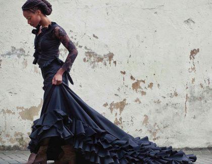 La danseuse de flamenco Yinka Esi Graves  au Maroc