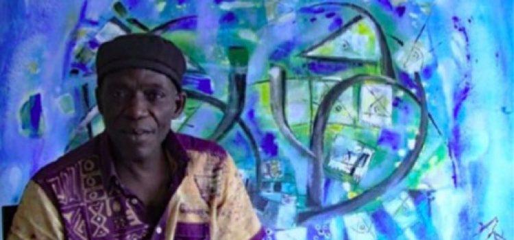 Zulu Mbaye expose ses Signes des Afriques à Casablanca