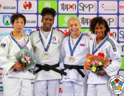 Asma Niang gagne une médaille à Zagreb