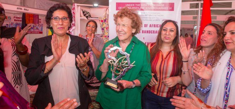 Le congrès des femmes artisanes rend hommage à Michaela Walsh
