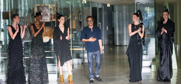 Nourredine Amir à la Fashion Week de Paris