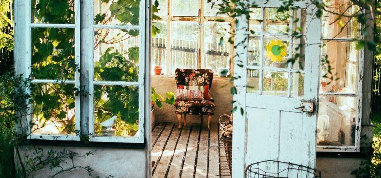 Un coin de vie sur le balcon