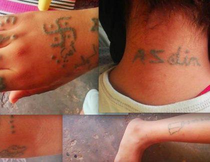 L'horrible cauchemar de Khadija, violée, torturée, tatouée