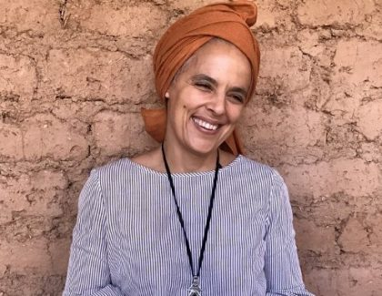 Salima Naji décorée chevalière des Arts et Lettres