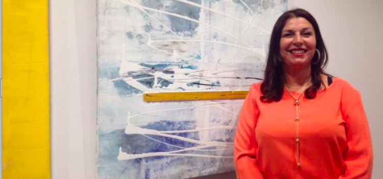 "Maria Kermadi expose son ""Universum"""