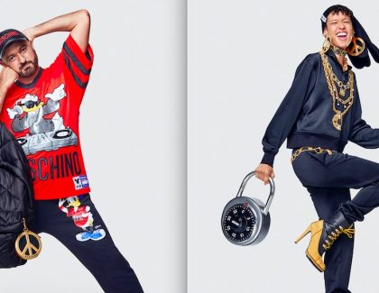 Une collection Moschino chez H&M Massira