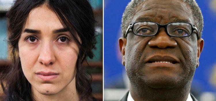 Denis Mukwege et Nadia Murad reçoivent le prix Nobel de la paix