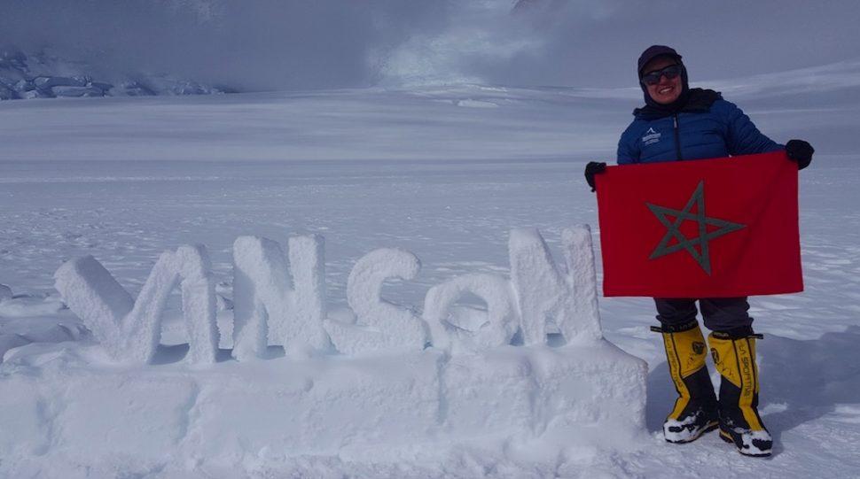 Le drapeau marocain flotte sur leMontVinson
