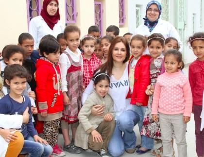 Amal Kadiri Berrada: prendre un enfant par la main