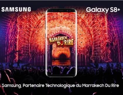 Samsung développe une appli pour le Marrakech du Rire 2017