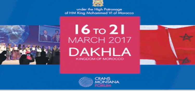 Et de trois pour le Forum Crans Montana à Dakhla.
