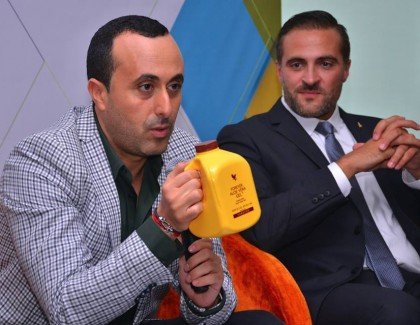 Nabil Ayachi nutritionniste pour Forever living Products