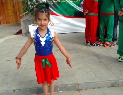 Rihab 8 ans, gymnase artistique de talent