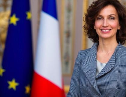 Audrey Azoulay nouvelle directrice générale de l'Unesco