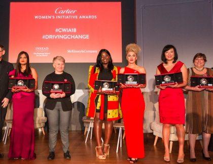Cartier Women's Initiative Awards 2018 annonce ses lauréates