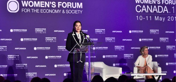 La Princesse Lalla Hasnaa au Women's Forum