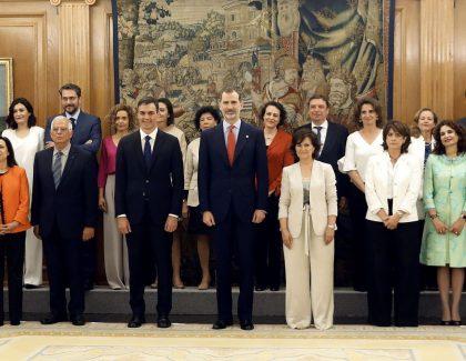 Espagne : un gouvernement majoritairement féminin