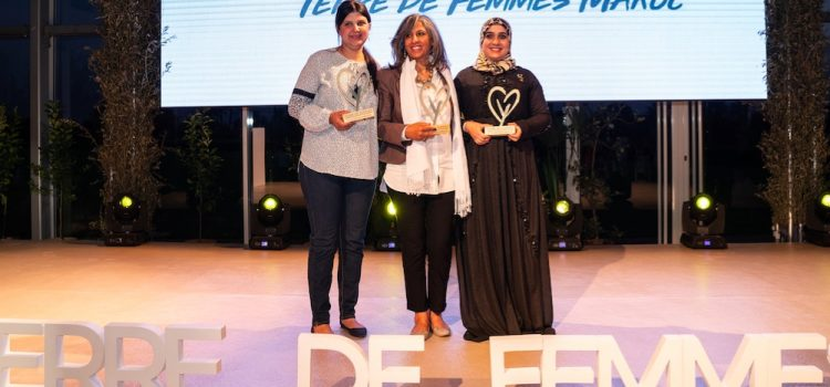 Voici les 3 lauréates Terre de Femmes Maroc 2019!