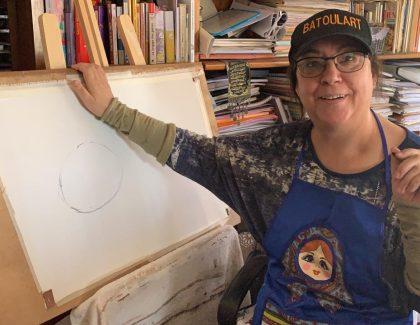 Confiné avec l'artiste El Batoul Bargach